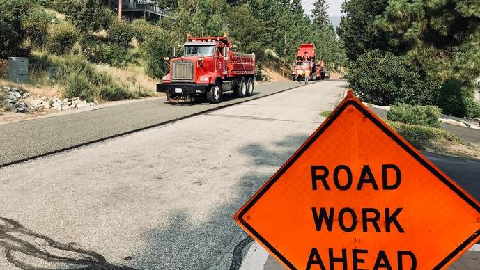 Weekly Road Maintenance Update: Aug. 20