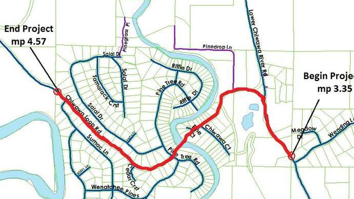 5-month road project starts June 5 on Chiwawa Loop image