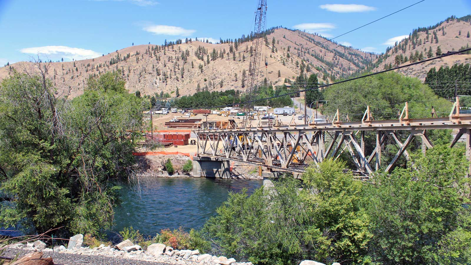 In-water work begins July 15 on West Cashmere Bridge project